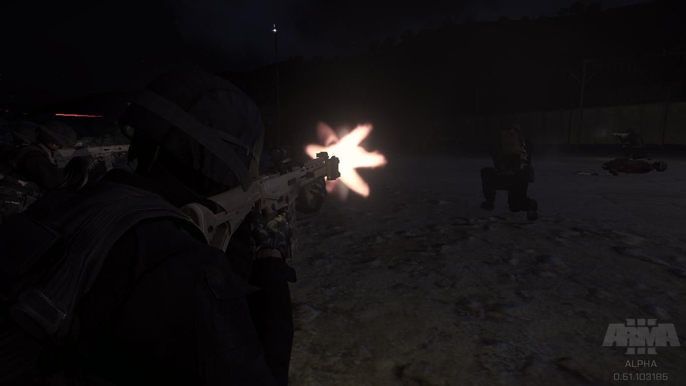 ArmA 3 SWAT Team: Fire at will!