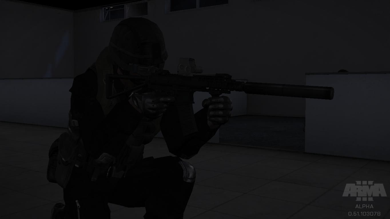 ArmA 3: SWAT team in action