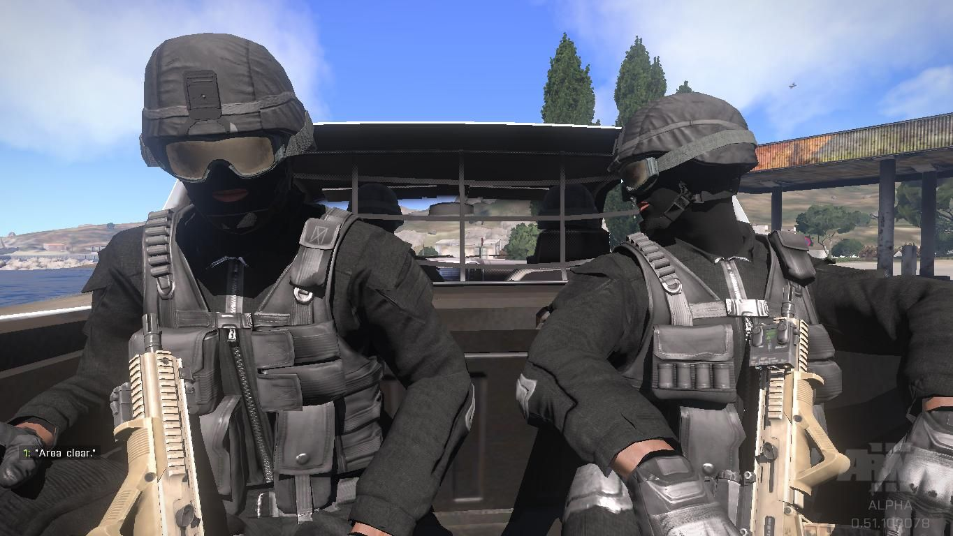 ArmA 3: SWAT team is going to investigate