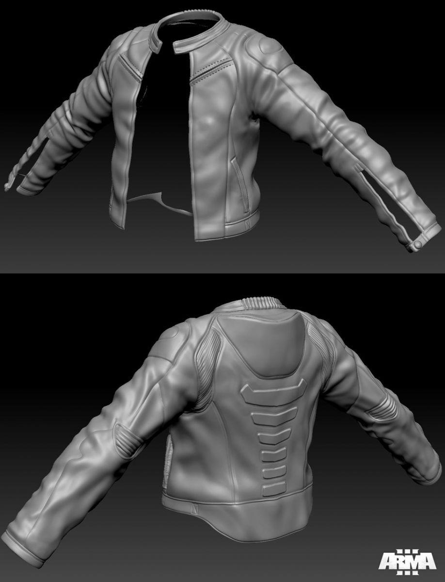 arma3 sculpt jacket