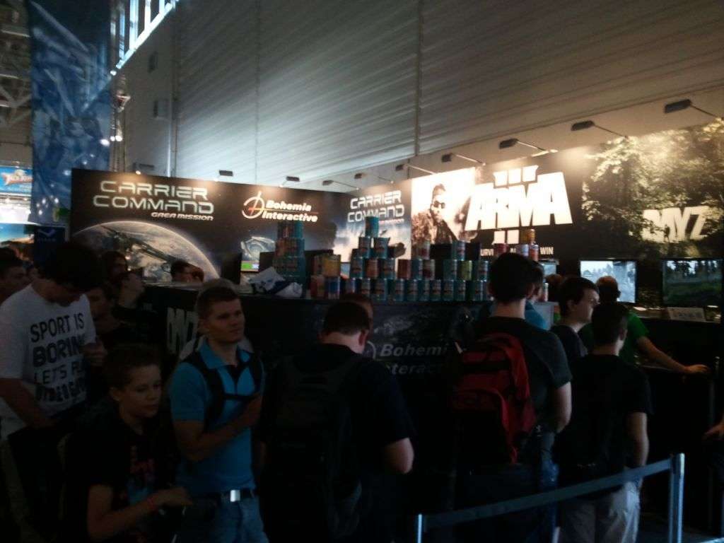 Bis stend gamescom 2012 sunday