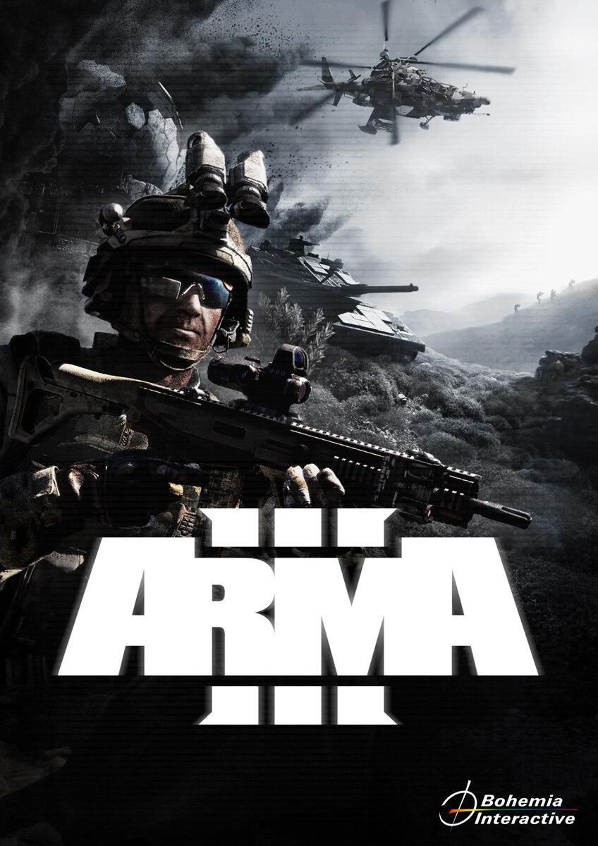 Обложка игры ArmA 3
